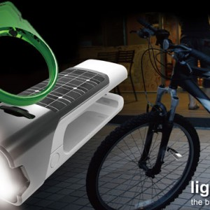 Green Lantern channeled for bicycle security