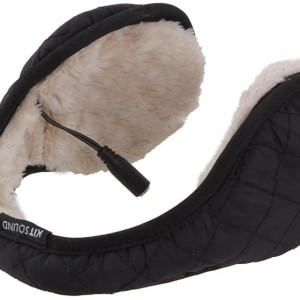 Quilted Music Ear Muffs for iPhone/iPod/MP3