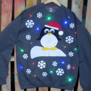 Light-up Christmas sweater