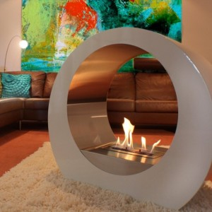 BeoFires 'Oracle' Premium Bioethanol Flueless Fireplace