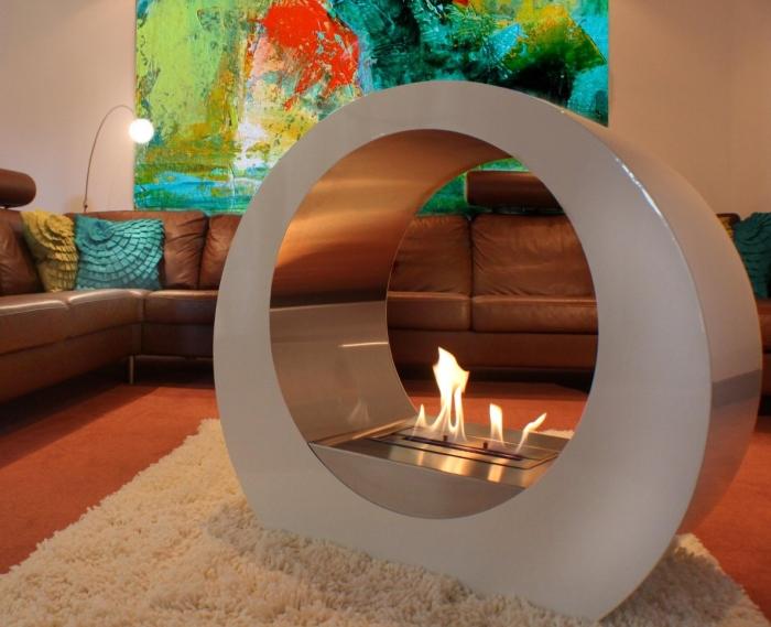 BeoFires 'Oracle' Premium Bioethanol Flueless Fireplace