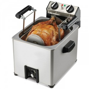 Indoor Rotisserie Turkey Fryer