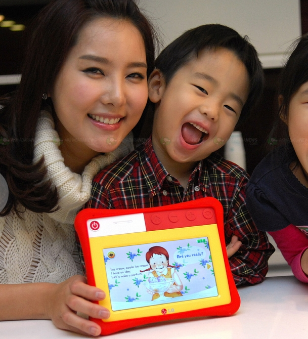 LG announces the Kidspad