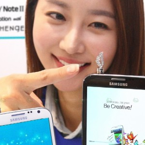 Samsung Galaxy Note II Met with Jewelry Brand Stonehenge