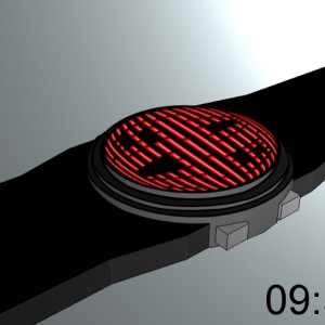 Sphere LED watch