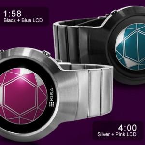 Kisai Polygon LCD Watch