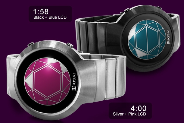 Kisai Polygon LCD Watch