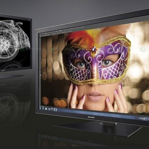 Sharp to Introduce PN-K321 LCD Monitor Featuring the Industry's Thinnest Design in a High-Resolution 4K2K Display