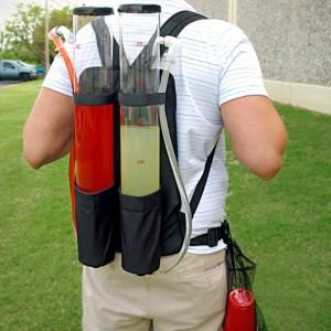 Dual Tank Backpack Drink Dispenser