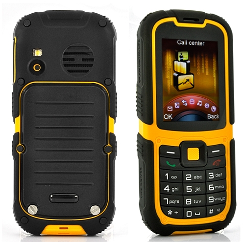 Rugged Waterproof Mobile Phone