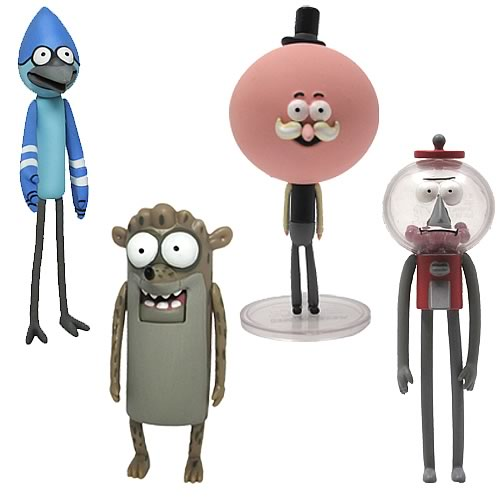 Regular Show 3-Inch Action Figure Case