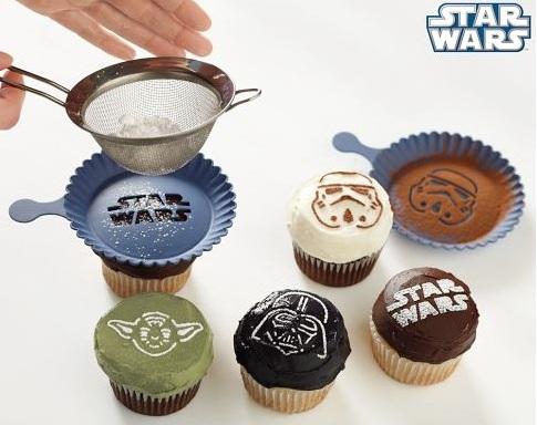 Star Wars Cupcake Stencils