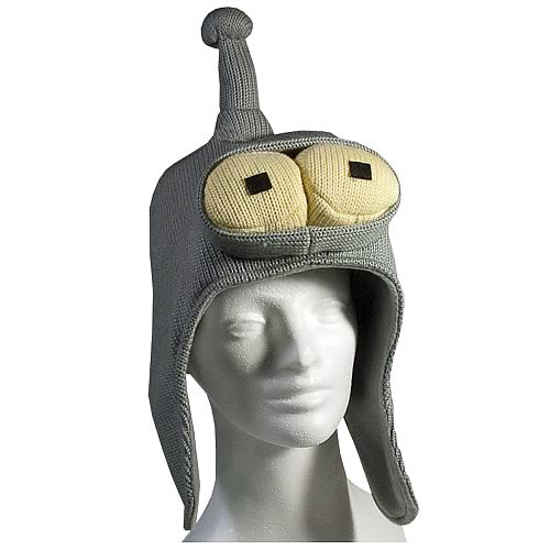 Futurama Bender Knit Hat