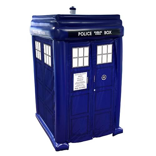 Doctor Who Inflatable Step-In TARDIS
