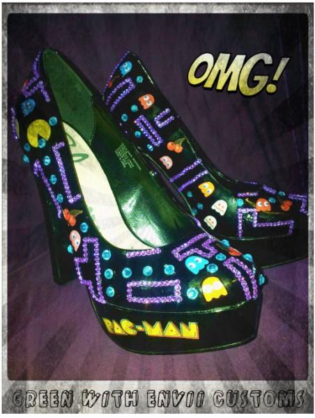 pacman pac man heels