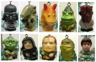 Star Wars Set of 10 Christmas Tree Ornaments