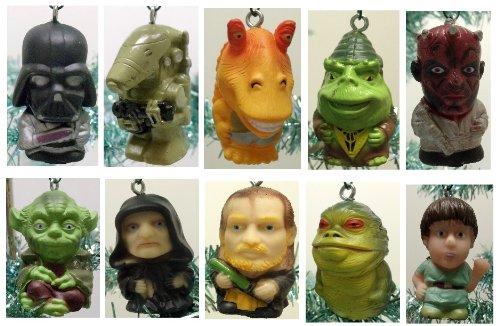 Star Wars Set of 10 Christmas Tree Ornaments