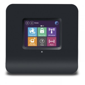 World's 1st Touch Screen Wireless N Router + Range Extender