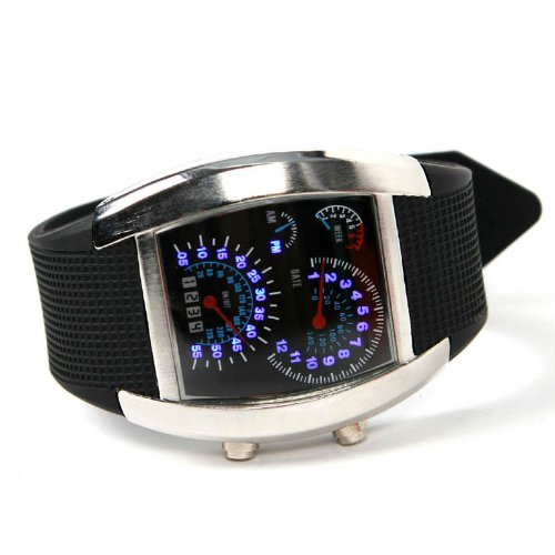 Men Wrist LED Watch