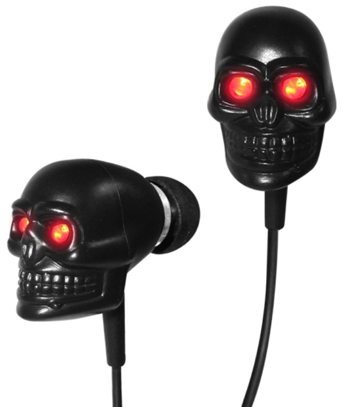Cyber Monday: Eyes Skull Earphones