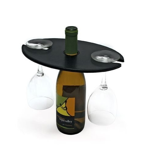 London Water/Wine Amenity Holder