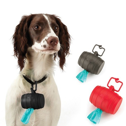 Doggie Barrel Bag Holder