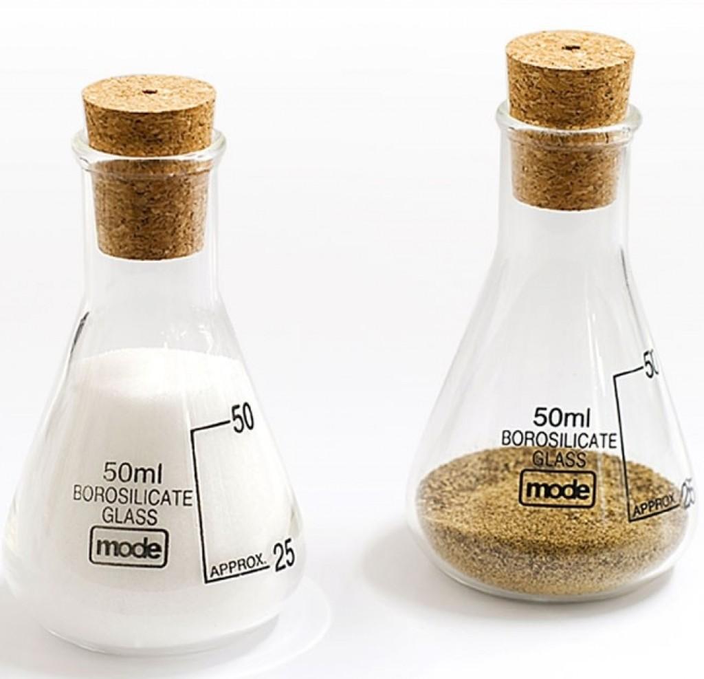 Earl Salt and Pepper Shakers