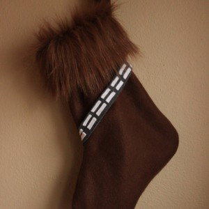 Wookiee Christmas stocking