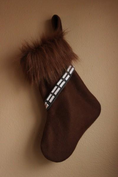 Wookiee Christmas stocking