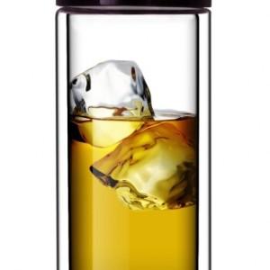 Double-Wall Glass Travel Mug