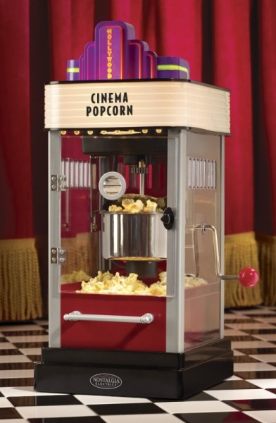 Nostalgia Electrics HKP-200 Hollywood Series Kettle Popcorn Maker