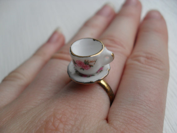 ceramic tea cup ring