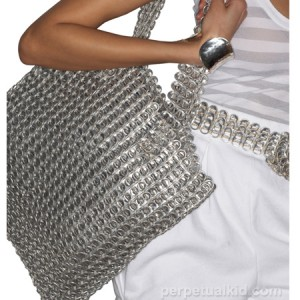 RECYCLED SODA CAN TAB SHOULDER BAG