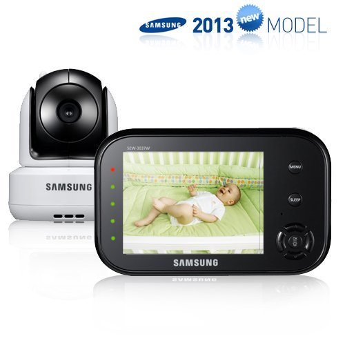 Samsung Wireless Pan Tilt Video Baby Monitor Infrared Night Vision and Zoom