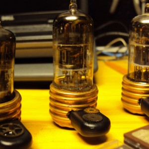 Radio Tube & Copper Steampunk 32gb USB Flash Drive