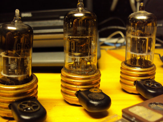 Radio Tube & Copper Steampunk 32gb USB Flash Drive