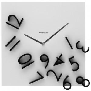Wall Clock Falling Numbers