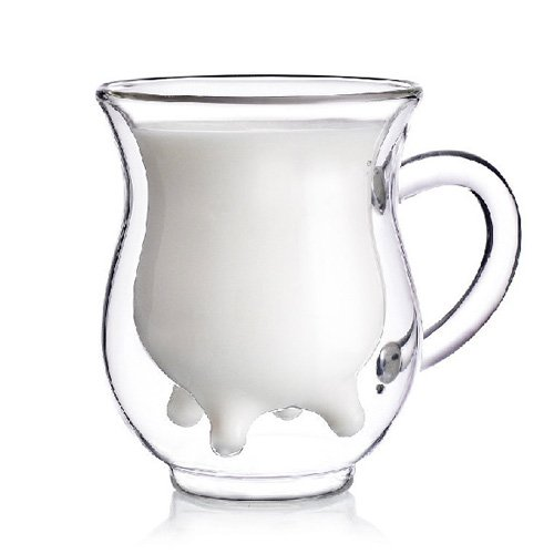 double-layer glass cup