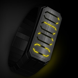 Brakket LED watch