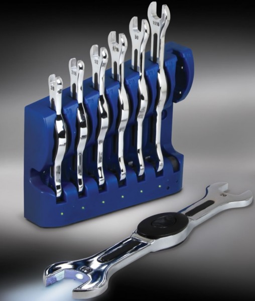 Rechargeable Illuminating Wrenches
