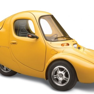 The Electric One Person Car.
