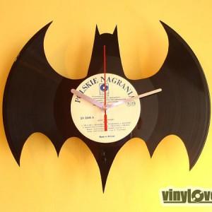 BATMAN gift handmade unique wall clock