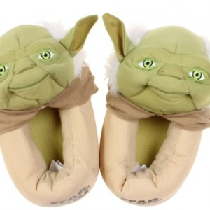 Yoda Step In Youth Slippers