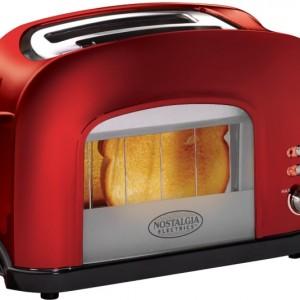 Nostalgia Electrics RWT500RETRORED Retro Series Window Toaster