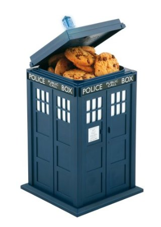 Doctor Who Tardis Cookie Jar