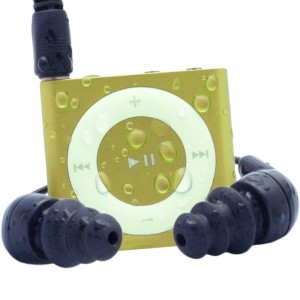 Waterproof iPod Shuffle Swim Kit with Dual Layer Waterproof/Shockproof Protection