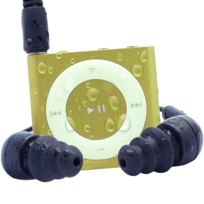 Waterproof iPod Shuffle Swim Kit