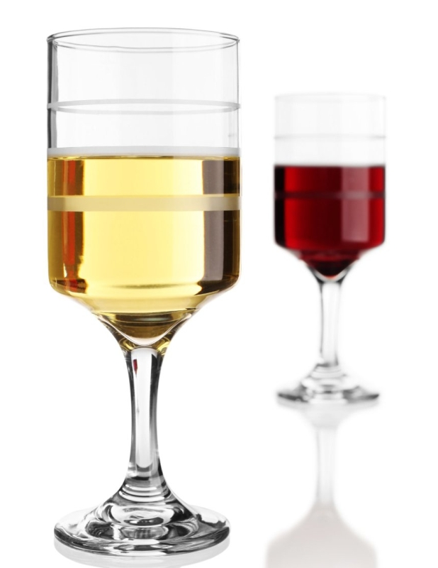 The measuring wine & beverage glass