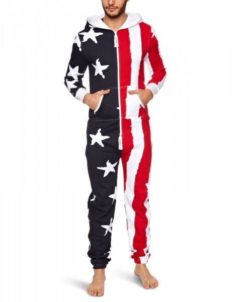 Stars & Stripes Loungewear Onesie Jumpsuit