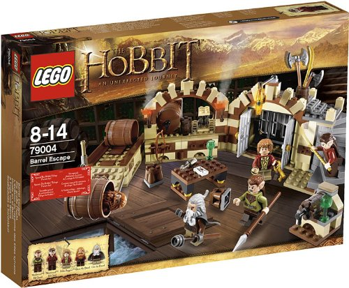 Lego Hobbit Barrel Escape
